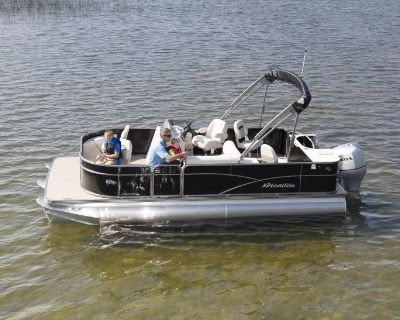2021 Manitou 22 Aurora Angler LE FF Pontoon Boats Rapid City, SD