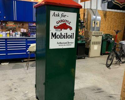 Mobiloil cabinet for sale