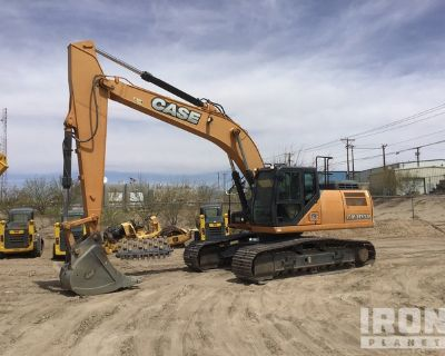 2016 Case CX300D Track Excavator