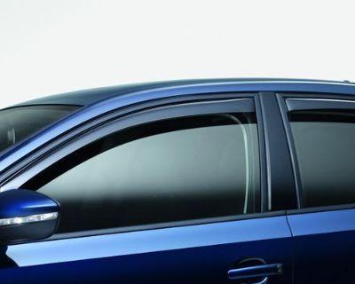 Rear Door Wind Deflector For Vw Mk6