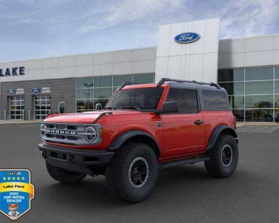 New 2021 Ford Bronco 2 Door Advanced 4x4