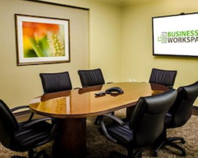 Private Meeting Room for 8 at Business Workspaces