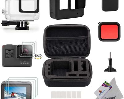 Accessories Kit for GoPro Hero 7 (Black), 6 or 5