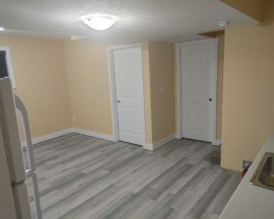 New house, 1 bedroom basement with seperate entrance