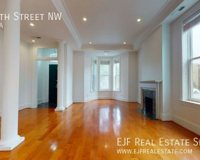 Stunning Shaw End Row Home W/Yard, Decorative Fireplace, Updated Kitchen, & More!