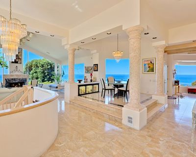 Sunset Villa I - Spectacular ocean views, 5 bedroom 4.5 bath, heated pool, architectural beauty - Country Club