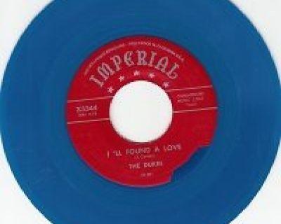 DUKES ~ I'll Found A Love*VG+45*RARE BLUE WAX !