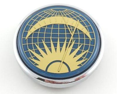 Flat-4 Sun & Moon Horn Button for Banjo Wheel