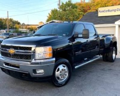 2013 Chevrolet Silverado 3500HD LTZ Crew Cab Long Box 4WD DRW
