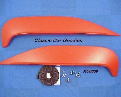 1960 Chevy Fender Skirts Impala Belair El Camino Metal