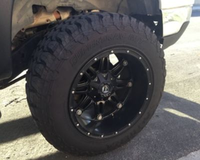Fuel Hostage Rims and Tires