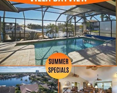 34% OFF! SWFL Rentals - Villa Bayview - Direct Gulf Access Vacation Home in prime location - Pelican