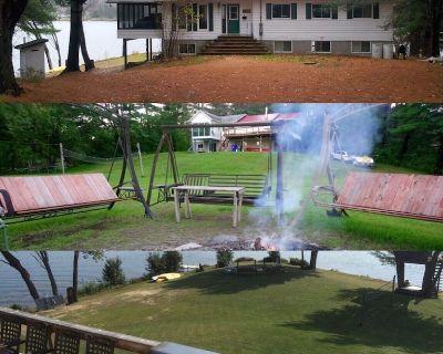 LARGE Beautiful Lakeside 2 Floor Summer Cottage - Sleeps 17 - Lac Cayamant - Cayamant