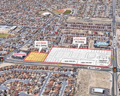Mixed-Use Land Along Unser Blvd | Great Development Opportunity
