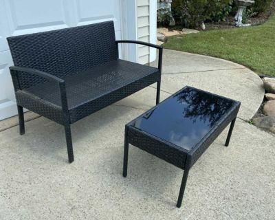 Loveseat and Coffee Table