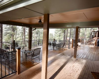 Cozy Cabin With Great Views, Awesome Deck and A/C - Ruidoso