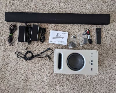 "VIZIO SmartCast 36"" 5.1 Wireless Soundbar System - SB3651-E6"