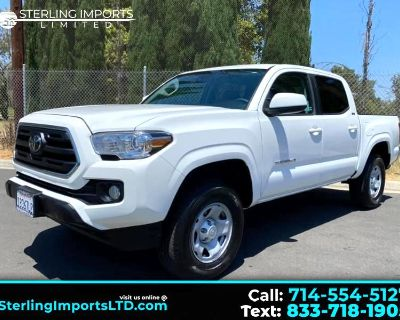 Used 2019 Toyota Tacoma SR5 Double Cab Long Bed I4 6AT 2WD