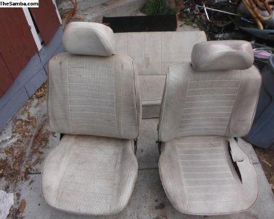 77 vw bug seats