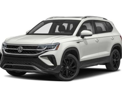 New 2022 Volkswagen Taos S FWD Sport Utility