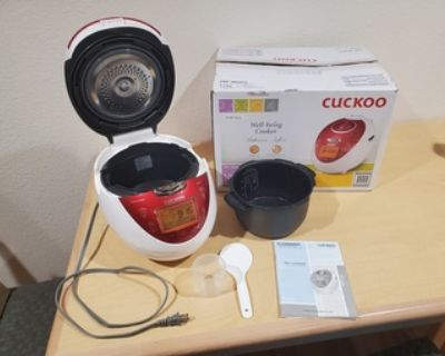Cuckoo Electric Pressure Rice Cooker (6 cups)