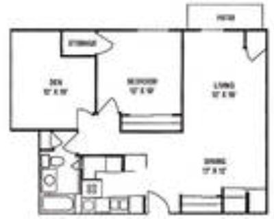 Foresthill Highlands Apartments & Townhomes 55+ - 1 Bedroom, 1 Bath with Den