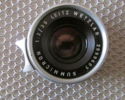Leica M Summicron 35mm f2 0, 8 element lens, Germany