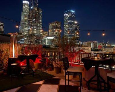 Nostalgic Downtown LA Penthouse Speak Easy w/Patio and Skyline View, Los Angeles, CA