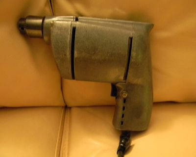 Vintage 1950's Craftsman Series 80 Electric Hand Drill