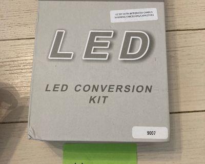 FOR SALE: - Brand New LED Headlight Conversion Kit 9007
