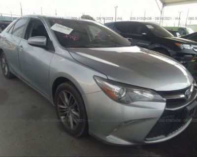 Salvage Silver 2015 Toyota Camry