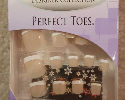Nailene Designer Collection Nails for Toes - French Manicure