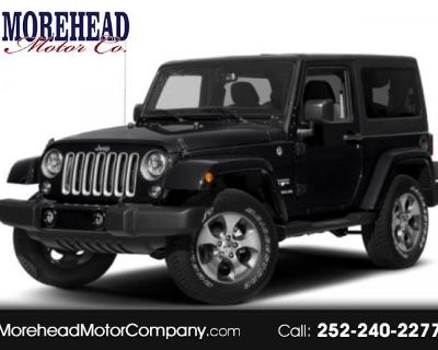 2017 Jeep Wrangler Smoky Mountain 4x4 *Ltd Avail*