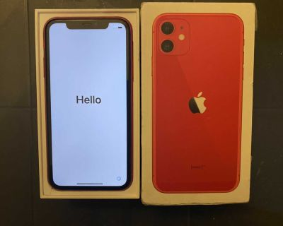 Apple IPhone 11 Red 64GB T-Mobile