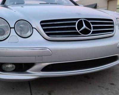 2002 Mercedes-Benz CL CL 55 AMG