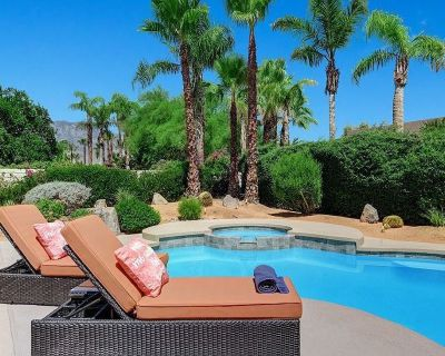 Relax in Rancho Mirage 4BD Private Pool & Spa with Beautiful Mountain Views - Rancho Mirage