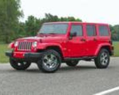 2018 Jeep Wrangler White, 40K miles