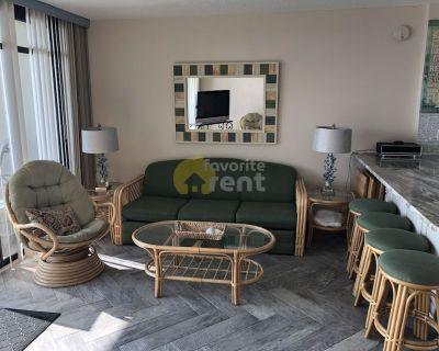 Ocean City 2 bedrooms 2 full baths direct oceanfront condo