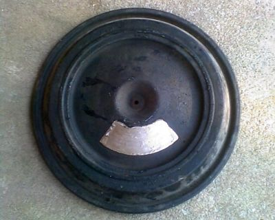 1959 1960 Chevy Impala Bel Air Biscane 283 Turbo Fire Air Cleaner Lid