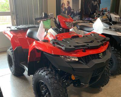 2021 Suzuki KingQuad 500AXi Power Steering ATV Utility Woodstock, IL