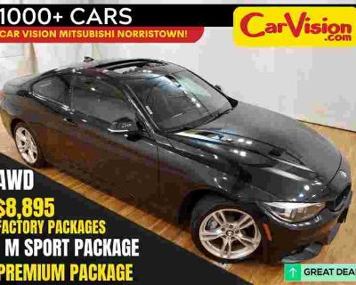 2018 BMW 4 Series 430i xDrive M-SPORT Navigation Leather Moonroof BACK-UP CAM AW