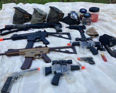 Air Soft Gun Collection