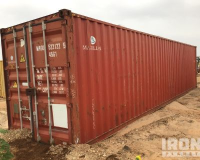 2011 Yangzhou 40 ft High Cube Storage Container