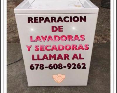 Reparación de lavadoras y secadora