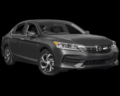 Pre-Owned 2017 Honda Accord LX FWD 4D Sedan