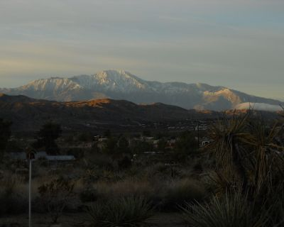 A cozy country setting with marvelous vistas located among horse properties. - Morongo Valley
