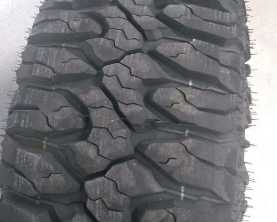 Gently used Milestar Patagonia M/T tires-quantity of 4