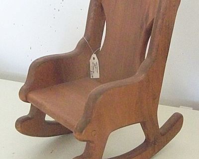 Small Solid Wood Rocking Chair