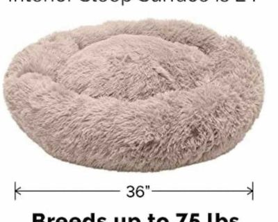 New in package - large dog bed - dogs under 75lbs