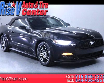 Used 2016 Ford Mustang EcoBoost Premium Convertible